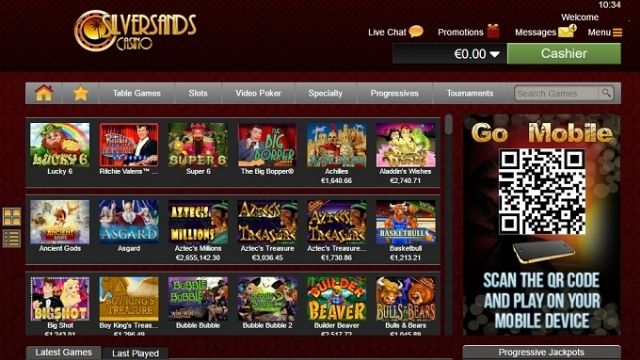South African Online Casinos silver sands